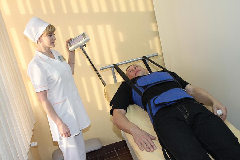 санаторий Янган-Тау, сухое вытяжение позвоночника