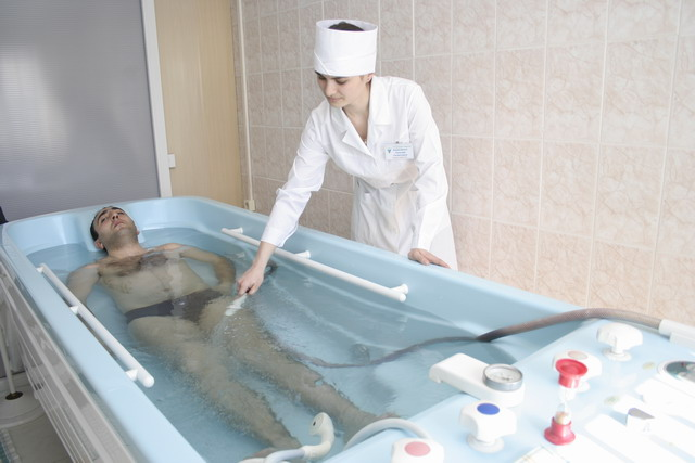 санаторий Карагай, подводный душ-массаж
