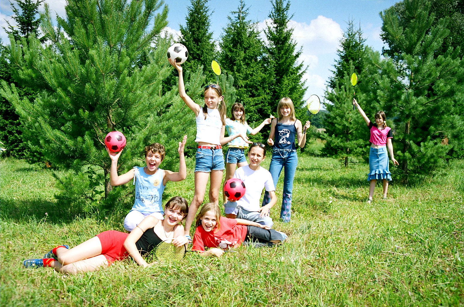 Детский лагерь «Романтик», Трухинята