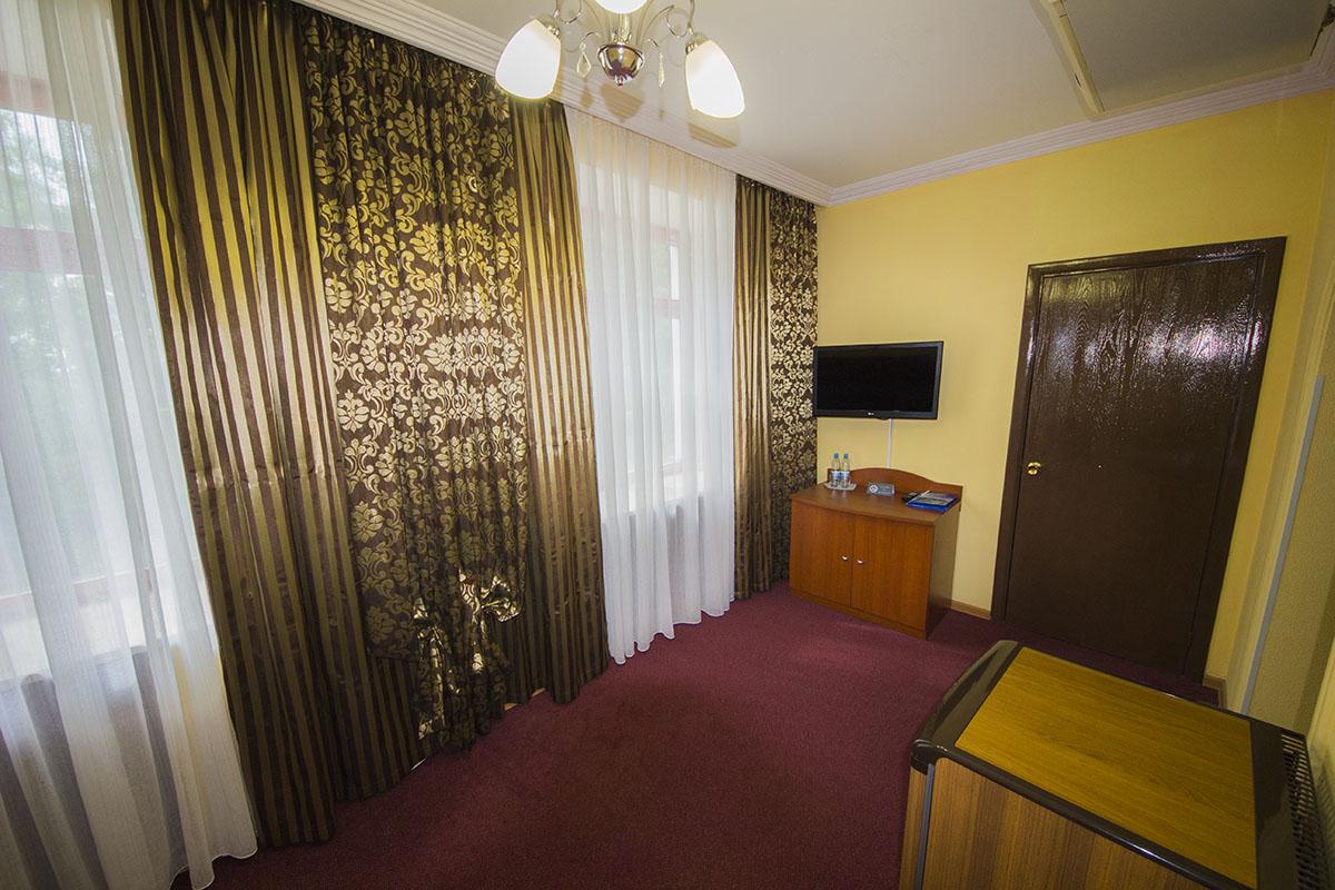 корпус 2, 1-местный 2-комнатный люкс, без балкона WiFi