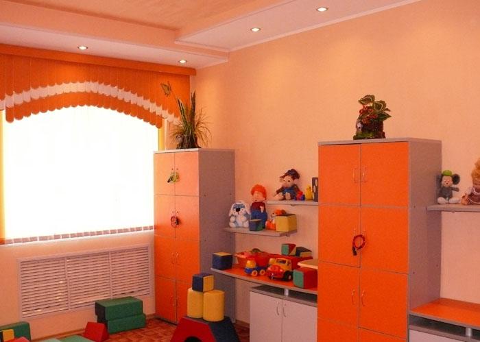 санаторий Нижне-Ивкино. Детская комната.