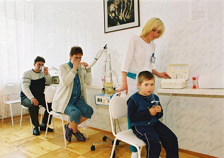 санаторий Юбилейный, физиопроцедуры