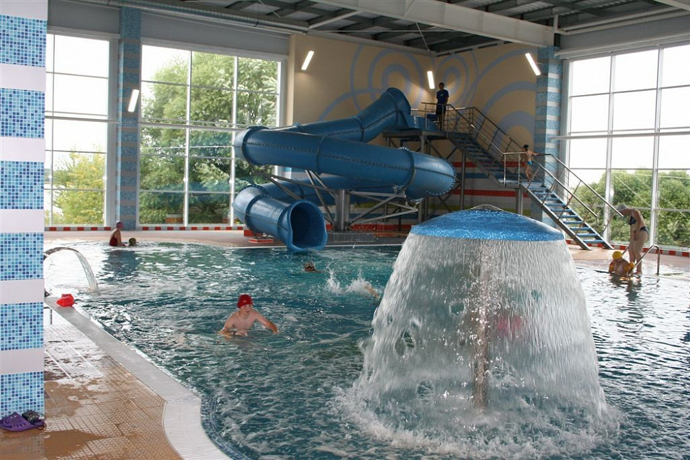 санаторий Усть-Качка, аквацентр